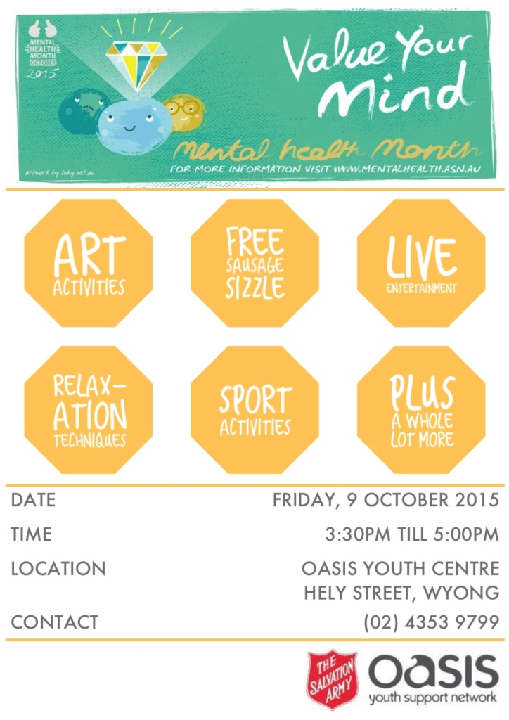 OASIS Mental Health Month Event_Poster